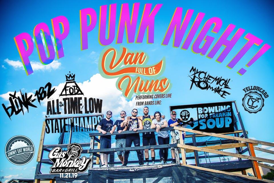Pop Punk Night! feat. Van Full Of Nuns