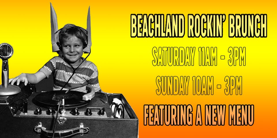 Beachland Rockin' Brunch with DJ Marjorie Preston