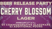 Cherry Blossom Beer Release