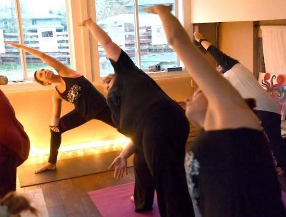 Yoga at the Moxi