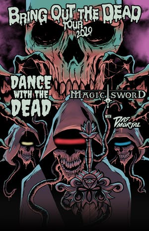 Magic Sword / Dance With The Dead