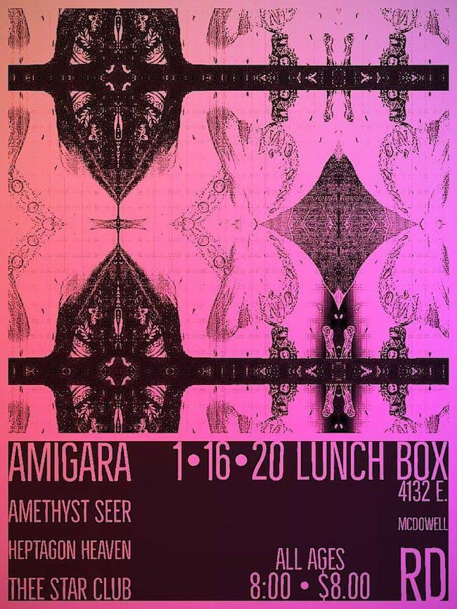 Amigara // Amethyst Seer // Heptagon Heaven // Thee Star Club