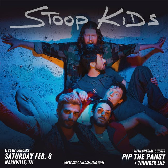 Stoop Kids w/ special guests Pip the Pansy & Thunder Lily