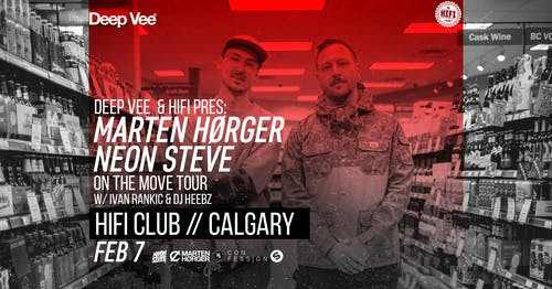 Marten Horger & Neon Steve: On The Move Tour