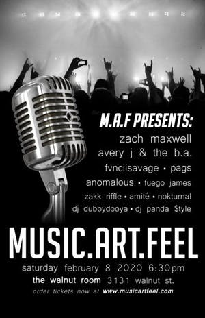 M.A.F. - Music Art Feel presents Denver's Emerging Artist Showcase