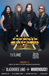 STRYPER / LILIAC / BLACKHEART SAINTS