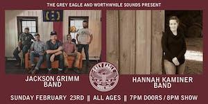 Jackson Grimm Band + Hannah Kaminer Band