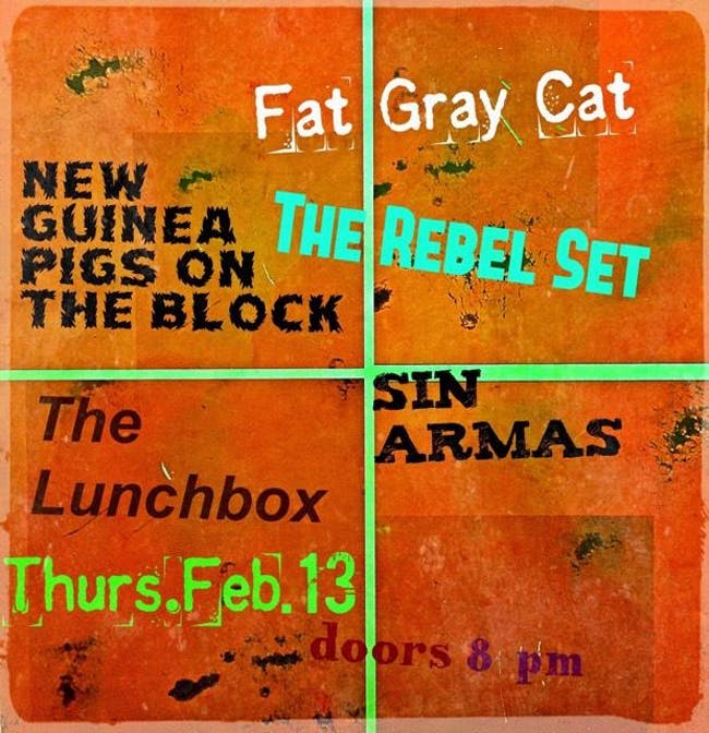Fat Gray Cat // NGPOTB // Rebel Set // Sin Armas