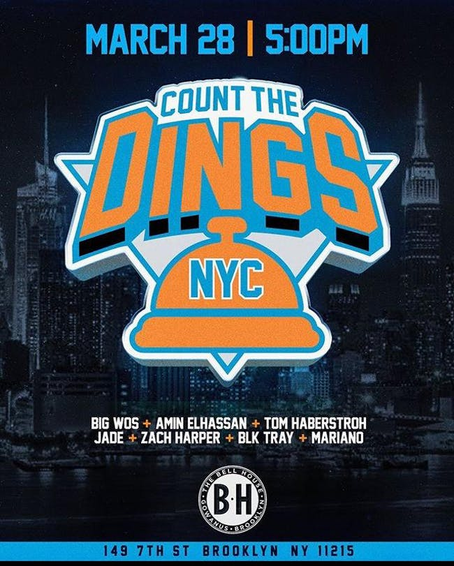 Count the Dings Live in Brooklyn