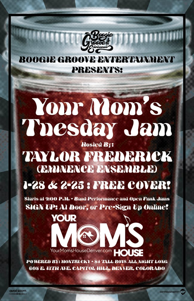 Open Jam hosted by Taylor Frederick Band