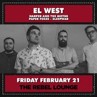 EL WEST CD RELEASE SHOW