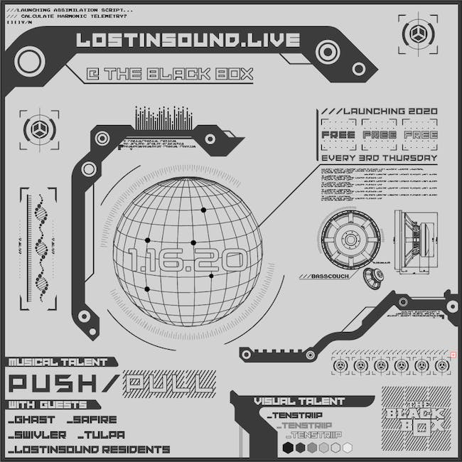 LostInSound.Live - Free Showcase (Every 3rd Thursday)