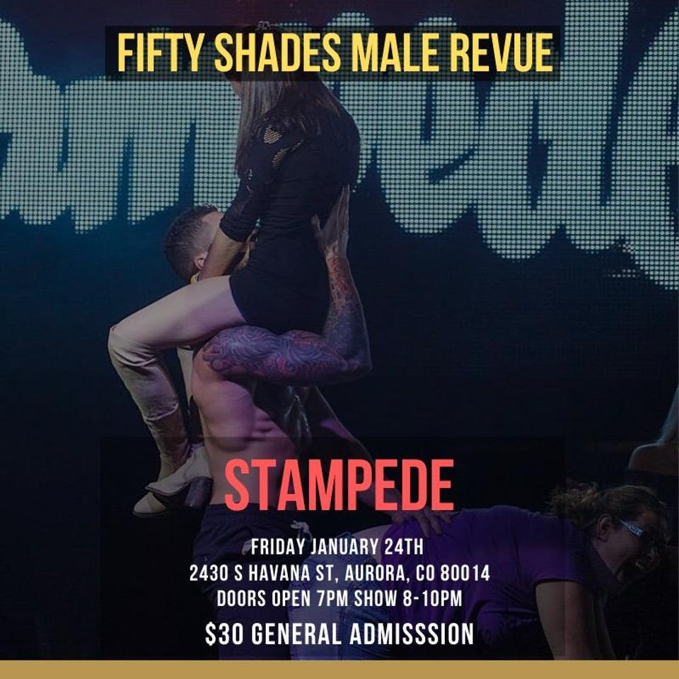 50 Shades of Grey Male Revue