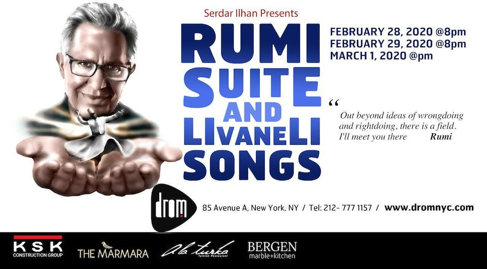 Rumi Suite and Livaneli Songs: Featuring Zülfü Livaneli