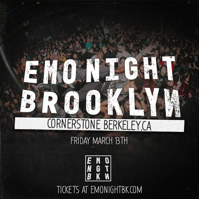 Emo Night Brooklyn: Berkeley w guest DJ Ryan Key of Yellow Card (CANCELLED)