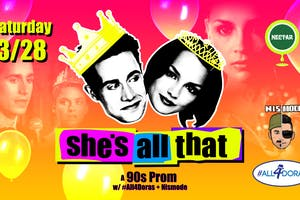 She's All That: A '90s Prom Party featuring #all4Doras