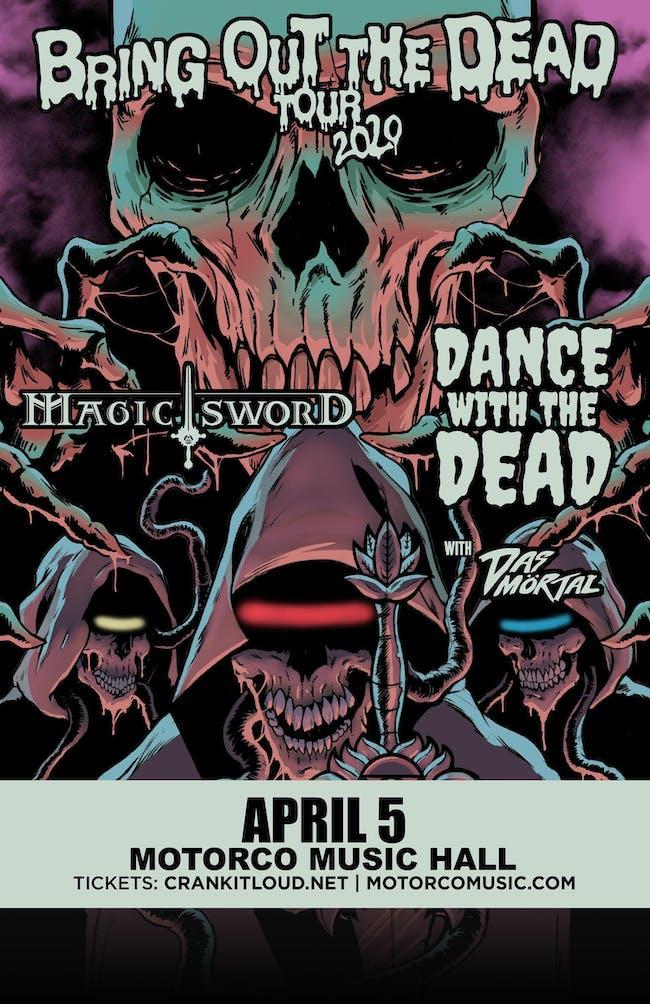 DANCE WITH THE DEAD/ MAGIC SWORD/ Das Mortal