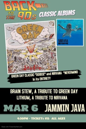 Back to The 90's Classic Albums feat. Brain Stew + Lithium