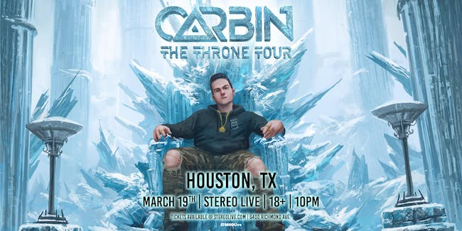 Carbin - Stereo Live Houston