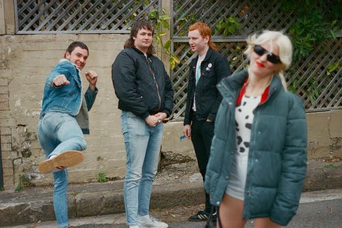 Amyl and the Sniffers with C.O.F.F.I.N.