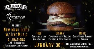 AMH + Ripplewood Food Menu Debut w/ Live Music & Libations