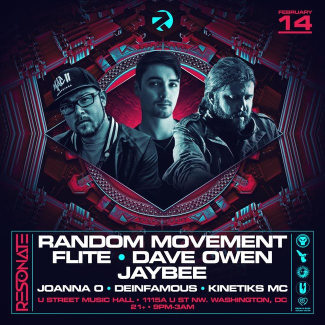 Random Movement, Flite, Dave Owen, Jaybee