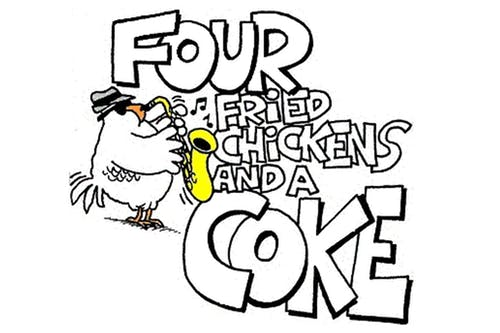 4 Fried Chickens & A Coke
