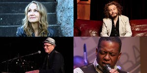 VOTER SUPPRESSION Joan Osborne, James Maddock, Kenny White & Dennis Collins