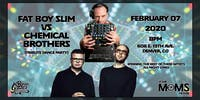 Fatboy Slim VS Chemical Brothers (Tribute Dance Party)  at YMH