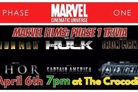 Marvel Films Trivia: Phase 1 @ The Back Bar