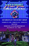 SPEEDBALL: Comedy Open Mic