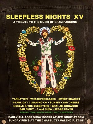 Sleepless Nights XV - A Tribute to the Music of Gram Parsons