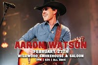 Aaron Watson Reserved Tables