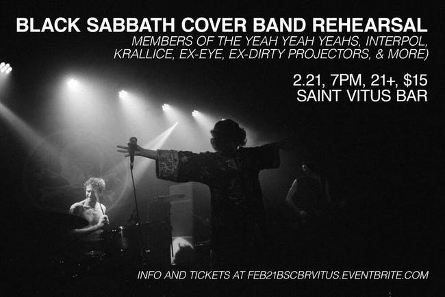 Black Sabbath Cover Band Rehearsal
