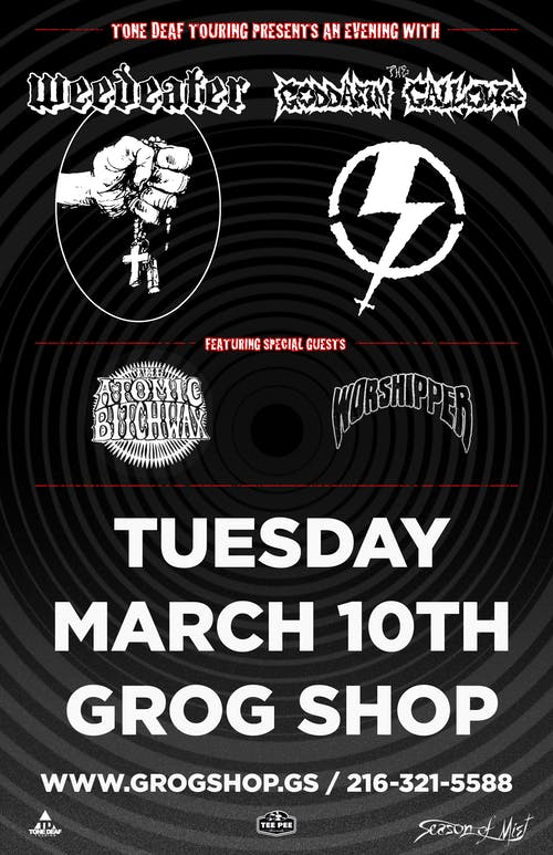 Weedeater / The Goddamn Gallows / Atomic Bitchwax / Worshipper