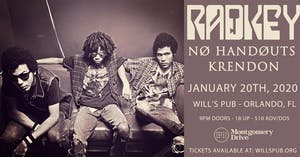 Radkey with Nø Handøuts and Krendon