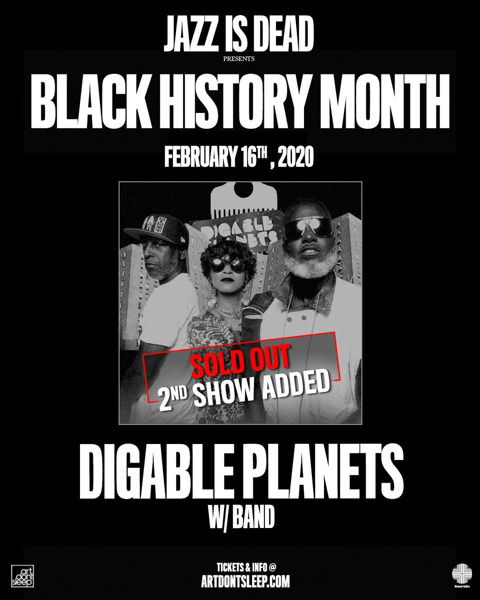 Black History Month: Rebirth of Slick w/ Digable Planets - 2nd Set Added!