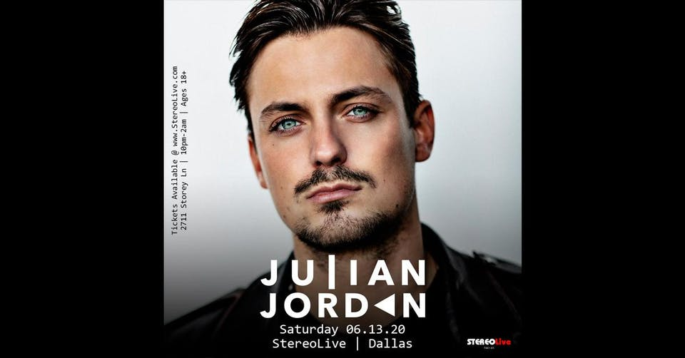 Julian Jordan - Stereo Live Dallas