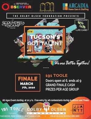 Tucson's Got Talent @ 191 Toole