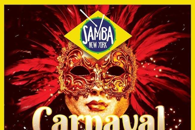 Samba New York's Carnaval Kick-Off Samba Party