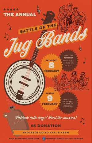 Minneapolis Battle of the Jug Bands - Waffle League