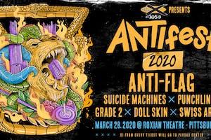 ANTIfest 2020 with Anti-Flag