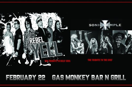 REBEL YELL + SONIC TEMPLE