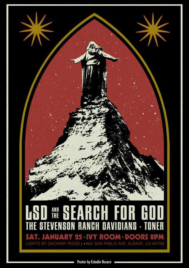 LSD & the Search for God, The Stevenson Ranch Davidians, TONER, Zach Rodell