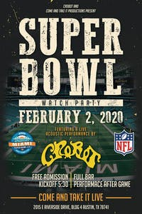 FREE Super Bowl Party: Hosted by Crobot!