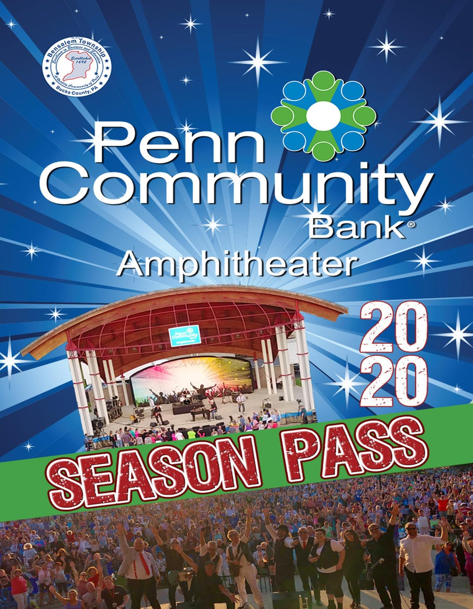 Penn Community Bank Amphitheater 2020 SEASON PASS