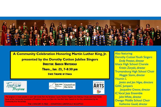 A Community Celebration Honoring Martin Luther King Jr.