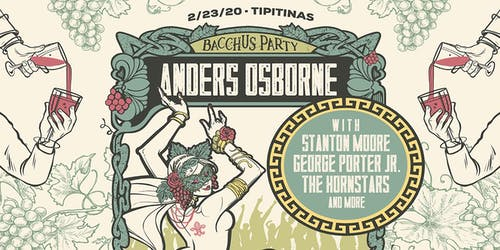 Anders Osborne's Bacchus Party