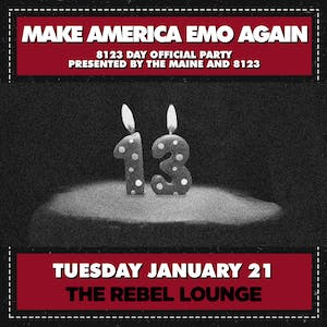 MAKE AMERICA EMO AGAIN - 8123 DAY OFFICIAL PARTY