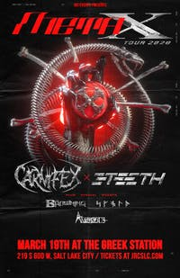 META X TOUR :  CARNIFEX / 3TEETH
